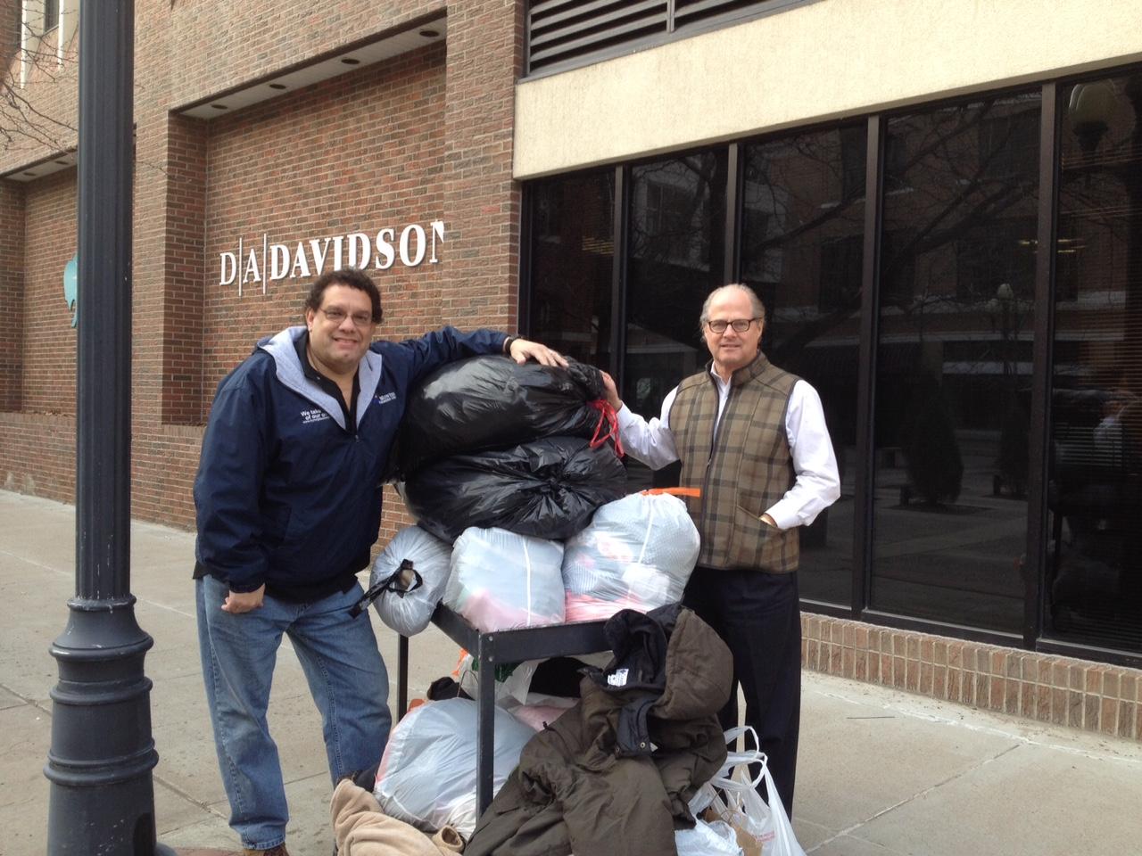 DA Davidson Donation - Dave & Dan